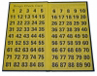 Folding Bingo Check Board
