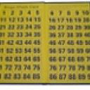 Folding Bingo Check Board